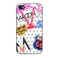 maroon 5 theme song iPhone 4 4s 5 5s 5c 6 6s plus cases