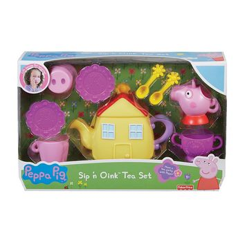 Fisher-Price Peppa Pig Sip 'n Oink Tea Set