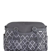 JJ Cole Satchel Diaper Bag - Grey