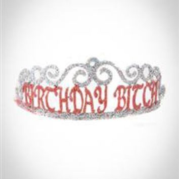 'Birthday Bitch' Tiara