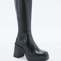 Vagabond Tyra Black Knee High Boots - Urban Outfitters