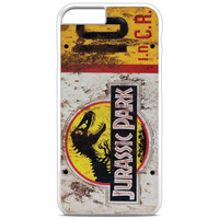 Jurassic Park Jeep License Number 10 iPhone 6S Plus Case