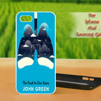 The Fault In Our Stars,John Green - Print on hard plastic case for iPhone case, Samsung Galaxy case and iPod case. Select an option