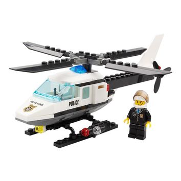 KAZI Air Force plane DIY Bricks Compatible legoed Police Helicopter Building Blocks Boy's Brinquedos Toys Kids Birthday Gift