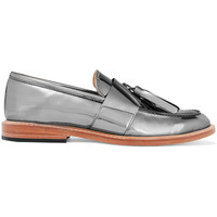 Mirrored-leather loafers   Dieppa Restrepo   UK   THE OUTNET