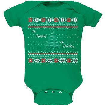 Christmas Tree Periodic Table Soft Baby One Piece