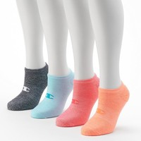 Champion Women's 4-pk. Cushioned Performance No-Show Socks, Size: 9-11