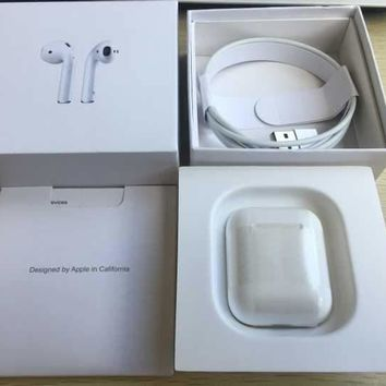 White AirPods Wireless Earbuds