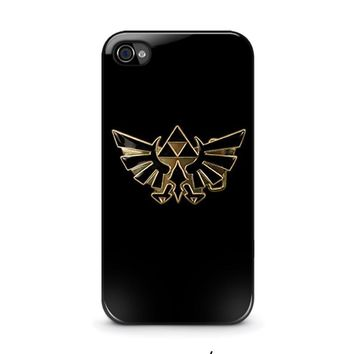 legend of zelda 1 iphone 4 4s case cover  number 1