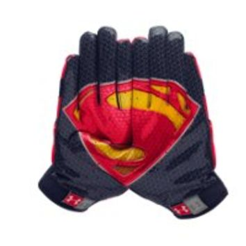 Under Armour Men's UA Alter Ego F4 Superman Football Gloves