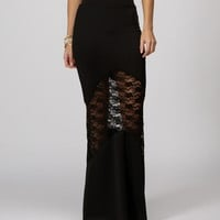 Sale-black Mod Mermaid Skirt
