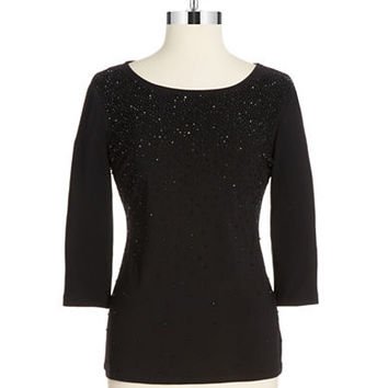 Chetta B Sequin Top