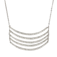 Silver Ashleigh Necklace