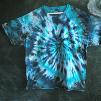 READY to SHIP! tie dye tee - XL