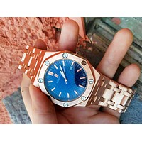 Audemars Piguet New Fashion Women Men Quartz Watches Wrist Watch