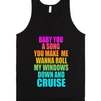 Baby You A Song - Cruise Tshirt - FGL-Unisex Black Tank