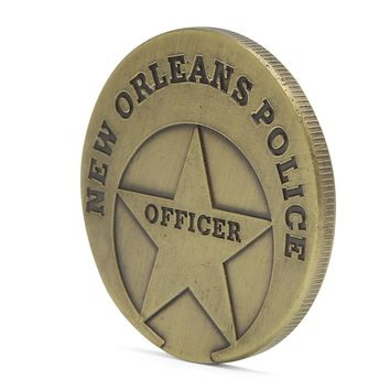 Saint Michael New Orleans Police Commemorative Coin Zinc Alloy Commemorative Coin Collection Drop Shipping Support