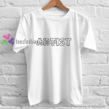 Artist Simple t shirt gift tees unisex adult cool tee shirts buy cheap