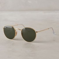 Ray-Ban Round Sunglasses in Gold Size: One Size Eyewear