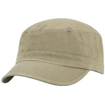 Licensed Khaki Official Cadet Fidel Hat Cap by Top of the World 649115 KO_19_1