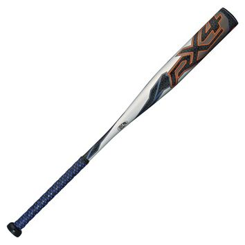 2015 Rawlings RX4 Alloy Youth Baseball Bat (-13) YBRX4A - 28 in/15