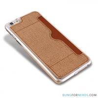 Card Pocket Soft Case - iPhone 6 Skin