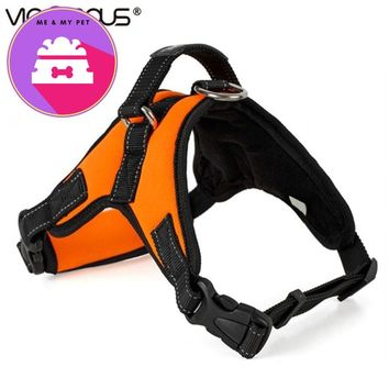 Pet Products for Large Dog Harness k9 Glowing Collar Puppy Lead Pets Vest Dog Lead Accessories in Collars Leads Harnesses PY0007