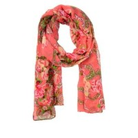 Cozzy Land Rose Paisley Scarf