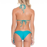 Luli Fama Exuma Wavey Tie Sides Bottom