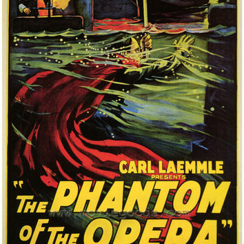 The Phantom of the Opera 27x40 Movie Poster (1925)