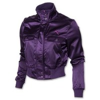 Women's Puma Satin Bomber Jacket