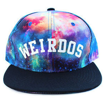Cosmo Weirdo Snapback Hat in Galaxy