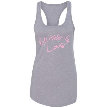 "Harry Styles ""All The Love Autograph"" Racerback Tank Top"
