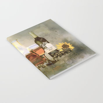 Dreams of Tuscany Notebook by Theresa Campbell D'August Art