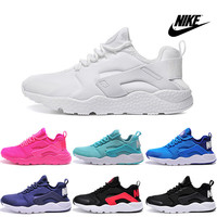 Nike Air Huarache Ultra Running Shoes Men Women 2016 New High Quality Authentic Jogging Boots Cheap White Sports Shoes Size 36-45