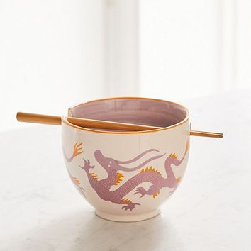 Mix + Match Noodle Bowl + Chopstick Set | Urban Outfitters