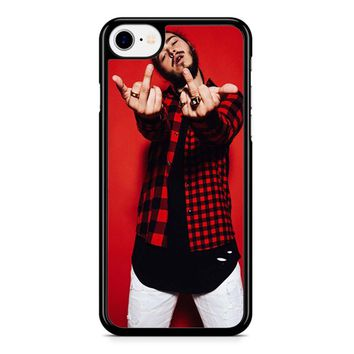 Post Malone Red iPhone 8 Case
