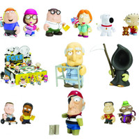 FAMILY GUY MYSTERY MINI FIGURINES