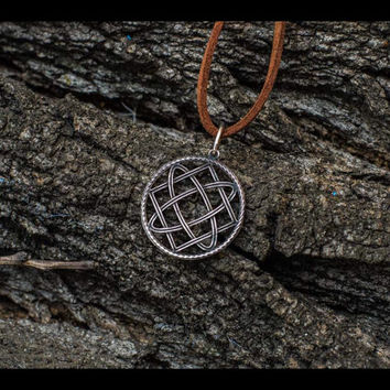 The Star of Russ Symbol Pagan Amulet Sterling Silver Pendant Handcrafted Jewelry