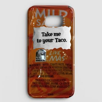 Taco Bell Take Me To Your Taco Samsung Galaxy Note 8 Case