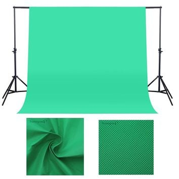 1.6X2/3M Green Screen Photo Background Photography Backdrops Backgrounds Studio Video Nonwoven Fabric Chroma key Backdrop