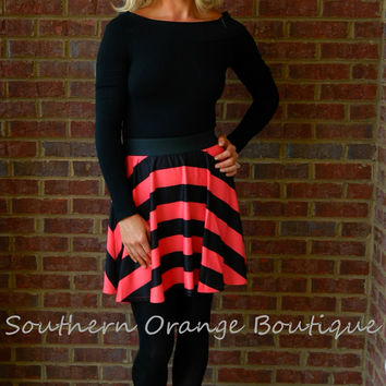 Flirty Striped Skirt