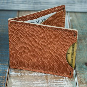 3-Slot Front Pocket Card Sleeve Wallet - 21st Amendment (Horween Basketball Leather)