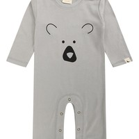 Bear Face Playsuit by Lilly+Sid