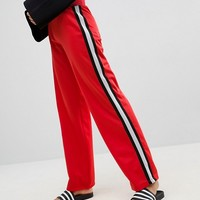 ASOS Co-ord Track Pant with Retro Tape Detail at asos.com