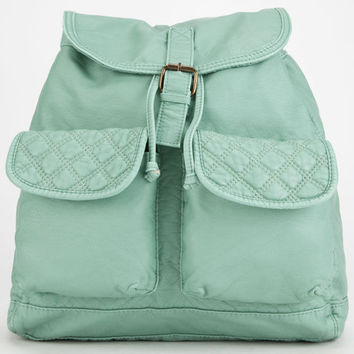 T-Shirt & Jeans Ellie Quilted Backpack Mint One Size For Women 26703452301