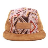 The Quiet Life, Geo 5 Panel With Suede - Tan/Suede - 5-Panels - MOOSE Limited