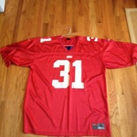 Authentic Nike NFL New YorK Giants Jersey Red - Jason Sehorn - #31 SpOrT SHIRT… In Stock • $24.99 Size Medium-Large Excellent Condition!!!
