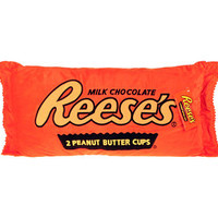 Big Plush Reese's Peanut Butter Cup Candy Pillow | CandyWarehouse.com Online Candy Store