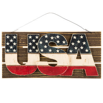 USA Wood Wall Decor | Hobby Lobby